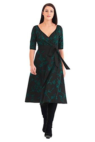 Poplin Wrap Dress - 1