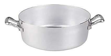 Ollas Baja cazuela Agnelli, Aluminio BLTF, con 2 Asas en ...