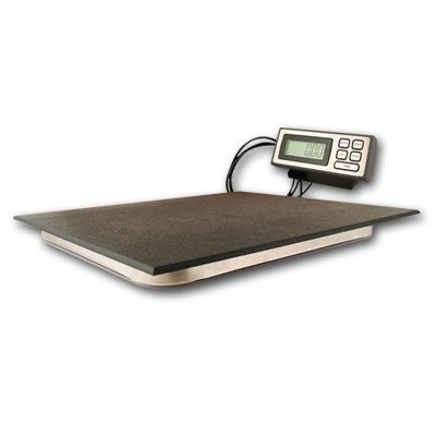 ZIEIS | 400 Lb. Capacity | Digital Platform Scale w/ remote LCD | 19'' X 16'' BigTop Dura Platform | Programmable Power | AC/DC | 110V Adapter | Surge Protector | TEN (10) Year Warranty | 0.1 Pound (lb.) Accuracy by ZIEIS