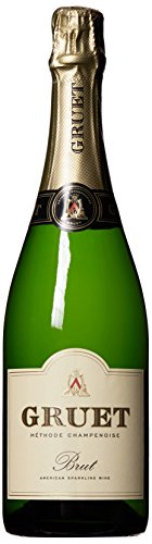 NV Gruet Brut, Methode Champenoise Sparkling Wine 750 mL