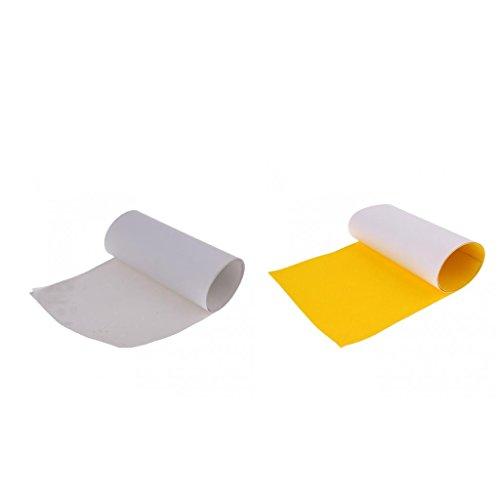 homyl 2 xスケートボードグリップテープ研磨剤用紙NonslipスケートボードSandpaper Griptape 82 x 21 cm 83 x 24 cm