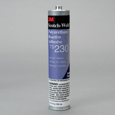 3M Scotch-Weld TS230 One-Part Off-White Polyurethane - Solid 4.4 lb Bag - Shore Hardness 45 Shore D, Shear Strength 1780 psi, Tensile Strength 3300 psi - 53271 [PRICE is per CASE]