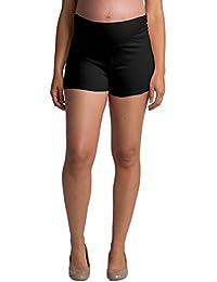 Women's Maternity Yoga Shorts Stretch Pregnancy Shorts...