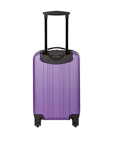 violet Valigia Liters noir Viola 73 66 Platinium Nero Siero Cm zwvUFxHFq