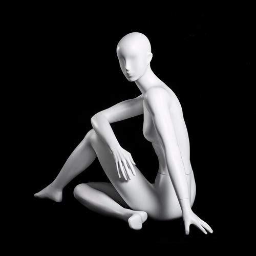 (MC-YOGA09) ROXYDISPLAY™ High end Quality. Female Yoga Position of Sitting, Full Body, Abstract Head, NO Base by ROXYDISPLAY™ (Image #5)