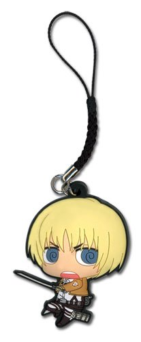 (Attack On Titan Armin PVC Cell Phone Charm)