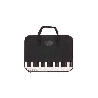Gift House Music Keyboard Briefcase (Music Book Carrying Case)