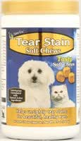 NaturVet Tear Stain Soft Chews for Dogs and Cats - 65 Soft Chews (Quantity of 3)