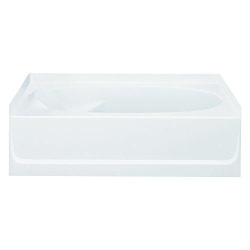STERLING 71101122-0 Ensemble Bathtub, 60-Inch x 36-Inch x 18.25-Inch, Right-Hand, - Bath 36 Tub