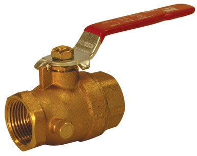 Mueller Industries 107-755NL B&K ProLine 7700 Full Port Ball Valve, 1 in, FPT, 600 Wog, 150 Psi WSP, Forged, Chrome Plated, 1-Inch, Brass ()