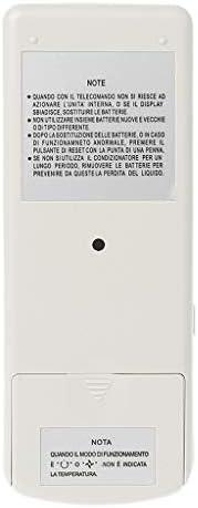 TY-UNLESS Telecomando universale per condizionatore daria per Hitachi RAR-3U4 RAR-2P2 RAR-3U3