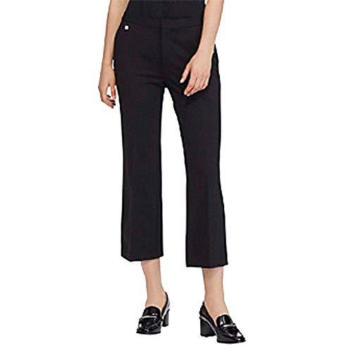 Lauren Ralph Lauren Cropped Trouser Pants (Polo Black, M) (Lauren Trousers Ralph Cropped)