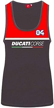 Whybee Andrea Dovizioso #04 D/ébardeur pour Femme Ducati Corse MotoGP