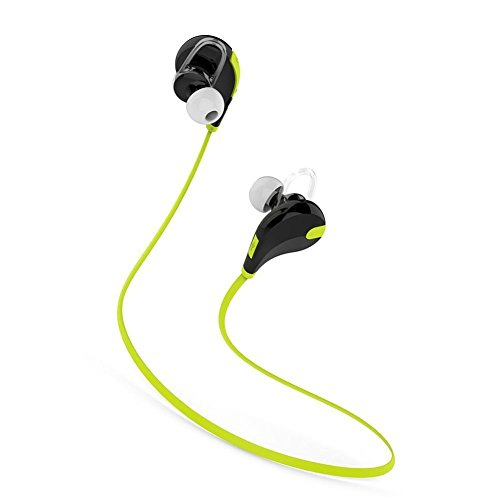PremiumAV MST 222 Bluetooth Wireless Stereo Sport Headphones  Green
