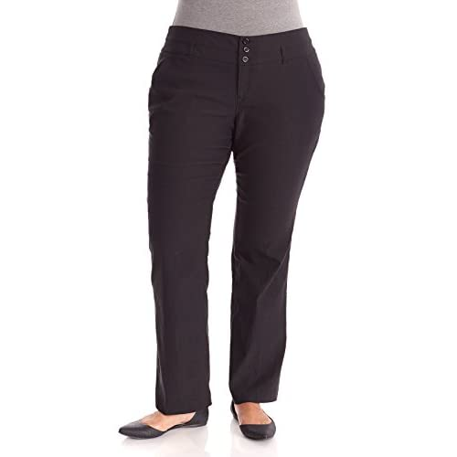 5e56a60f6e WallFlower Juniors Plus Size Stacked Bootcut Millennium Pants 30%OFF ...