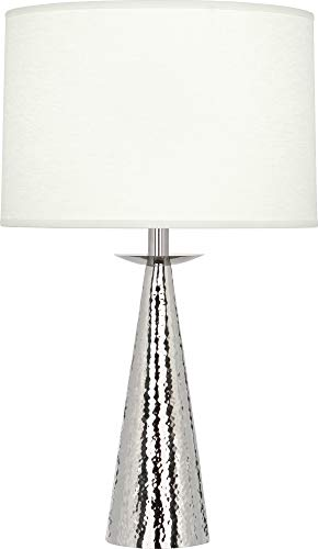 - Robert Abbey Dal Polished Nickel Accent Table Lamp