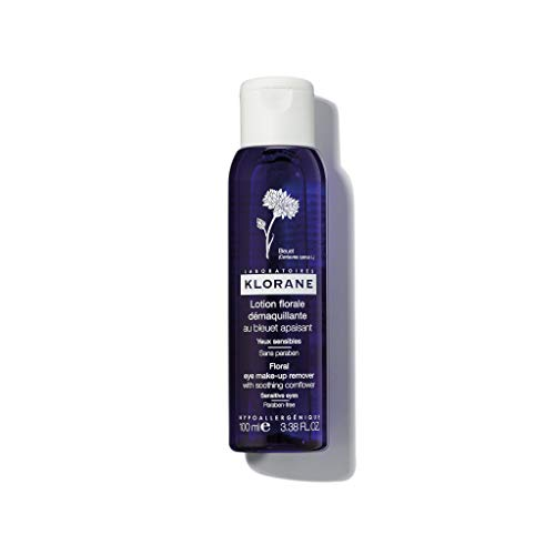 Klorane Makeup Remover - Klorane Soothing Eye Make-up Remover, 3.38oz