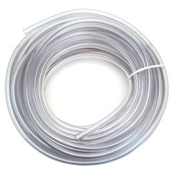 Draft Beer Line 3/8'' I.D. Clear Vinyl Hose - 100 Feet Coil by KegWorks