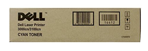 Dell T6412 Cyan Toner Cartridge 3000cn/3100cn Laser ()