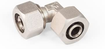 Maxline M8080 Elbow Fitting for 1/2-Inch Tubing