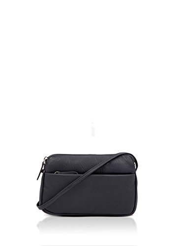 Curved II Women's Cross Body Navy Small Rubi Leather Bag Soft OxxdZR6
