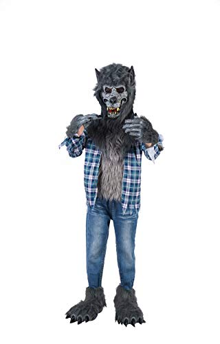 Halloween Werewolf Costumes For Kids (Spooktacular Creations Werewolf Costume (Large (10-12yr)))