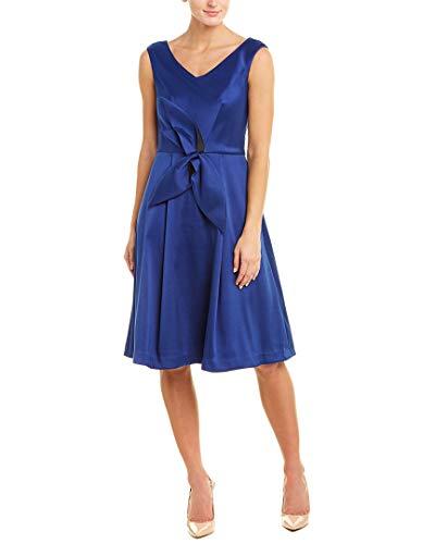 Kay Unger Womens A-Line Dress, 14, Blue