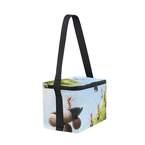 Crash Races Strap Ants at Lunchbox Shoulder Tales Lunch for Bag Picnic Cooler Car wXqEH4B