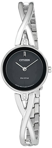 Citizen Women's 'Silhouette' Quartz Stainless Steel Casual Watch (Model: EX1420-50E)