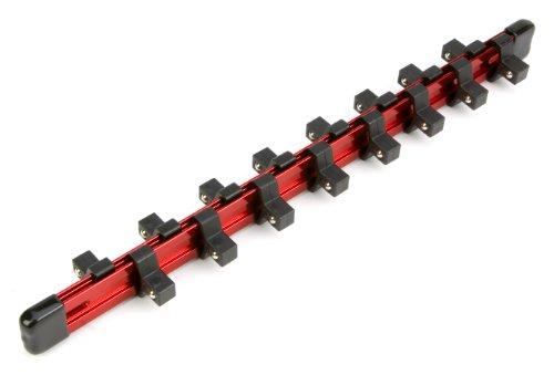 Performance Tool W38004 Drive Aluminum Socket Rail, 3/8