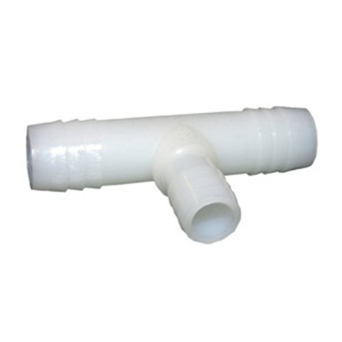 LASCO 19-9591 Tee Barb Fitting with 5/8-Inch x 5/8-Inch x 1/2-Inch Insert, Nylon 1/2 Poly Insert Tee