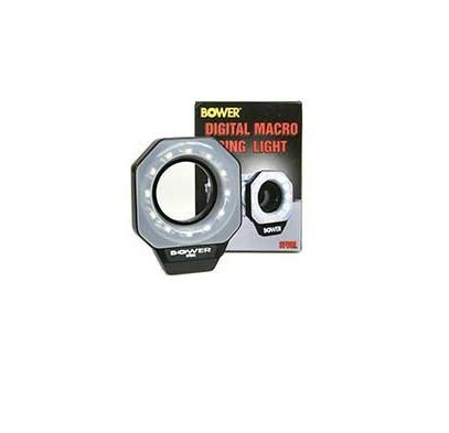 Bower SFDRL Digital LED Ring Light: Digital Macro 52 55 58 62