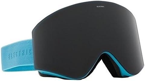 ライトブルーW /ジェットブラックレンズElectric EGXメンズフレームレススキースノーボードゴーグル+レンズ