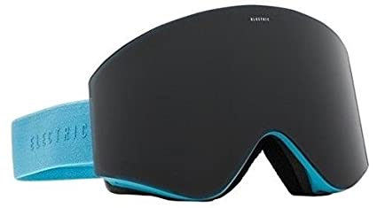 1e9eff7a7fe8 Image Unavailable. Image not available for. Color  Light Blue W  Jet Black  Lens Electric Egx Mens Frameless Ski Snowboard Goggles ...