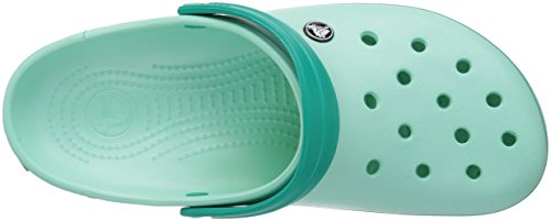 crocs Paradise Pink Teal Chambray US Men US 7 5 Unisex Mint New Women Tropical Clog Crocband Blue Adult wAHqwU