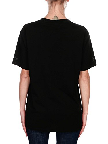 MARCELO BURLON Damen CWAA016R180470791088 Schwarz Baumwolle T-Shirt E3Flx3