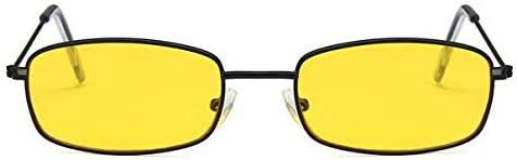 Sucai Occhiali da sole Donna Uomo Occhiali Donna Occhiali Giallo Nero Giallo