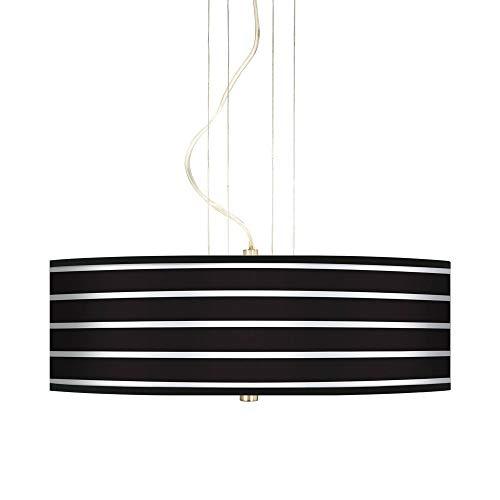Stripes Nickel Three Light - Bold Black Stripe 20