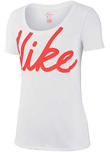 T Shirt Jdi Dry Coral rush Hilo Nike da donna White rrAwRqT