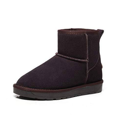 Kyle Walsh Pa Women Classic Snow Boots Hidden Wedge Warm Fur