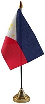 12 unidades Filipinas de sobremesa mesa Diseño de banderas de ...