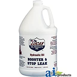 Lucas Oil 10018 Hydraulic Oil Booster with Stop Leak. Gallon