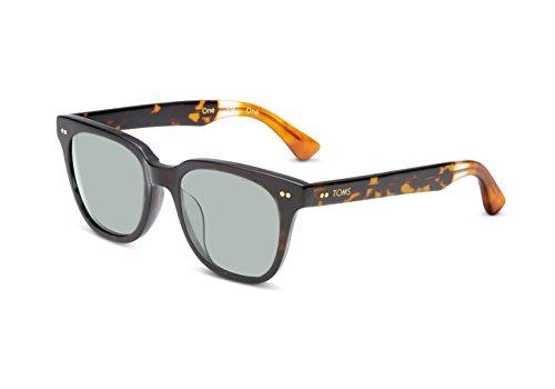 TOMS Sunglasses MEMPHIS NEW COLOR POLARIZED (Memphis 201 Vintage Tortoise Zeiss - Sunglasses Memphis