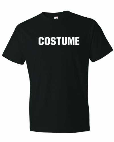Men's COSTUME. This Is My Generic Halloween Costume. T-Shirt-Black-3X -