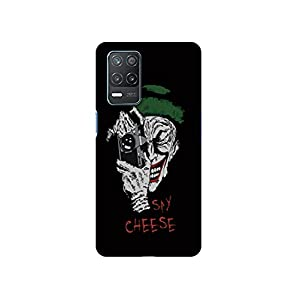 Casotec Joker Say Cheese Design 3D Printed Hard Back Case Cover for Realme 8 5G