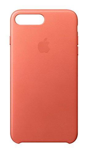 Apple MQ5H2ZM/A Leder Schutzhülle für Apple iPhone 7 Plus geranie