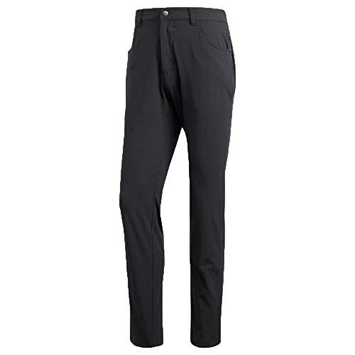 adidas Golf Adicross Beyond 18 Slim 5-Pocket Pant, Carbon, 3330 (Nike Golf Pants Slim Fit)