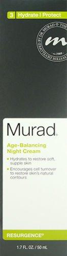 Murad Age Balancing Night Cream Resurgence Hydrate/Protect 1.7oz 50ml