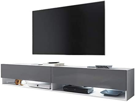 Selsey - Mueble para TV (180 x 32,5 x 30 cm), color blanco mate y ...