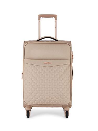 Caprese Alexandria 58 Cms Blush Softsided Cabin Luggage